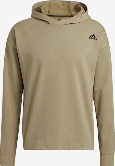ADIDAS PERFORMANCE Sport sweatshirt i khaki / svart, Produktvy