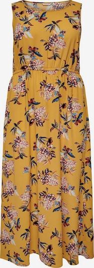 ONLY Carmakoma Kleid in goldgelb / mischfarben, Produktansicht