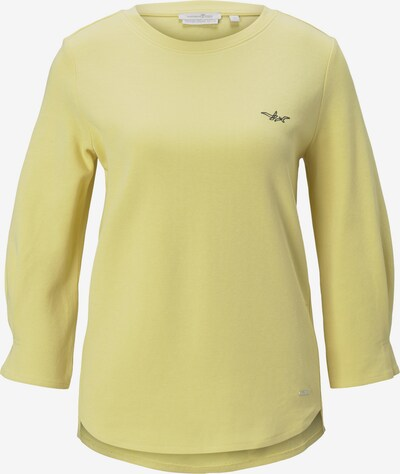 TOM TAILOR DENIM Sweatshirt in Night blue / Pastel yellow, Item view