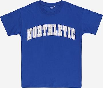 T-Shirt 'LEKII' NAME IT en bleu