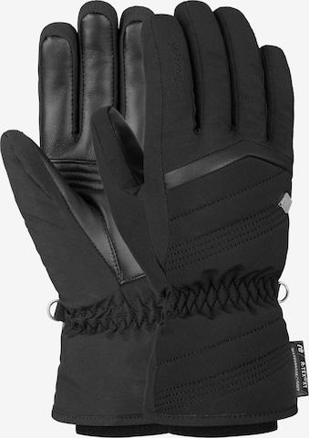 REUSCH Fingerhandschuhe 'Lenda R-TEX® XT' in Schwarz