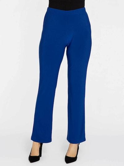 Yoek Leggings ' Dolce ' en bleu, Vue avec modèle