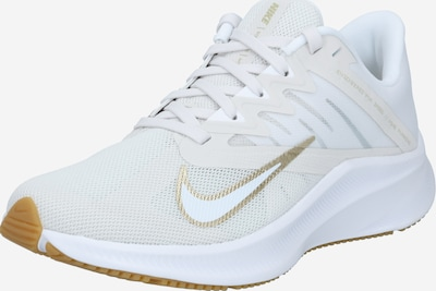 NIKE Running shoe in beige / gold / white, Item view