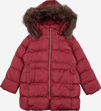 NAME IT Winterjacke 'Molly' in dunkelbraun / pitaya, Produktansicht