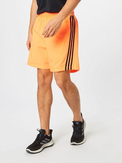 ADIDAS PERFORMANCE Sportovní kalhoty - oranžová / černá, Model/ka