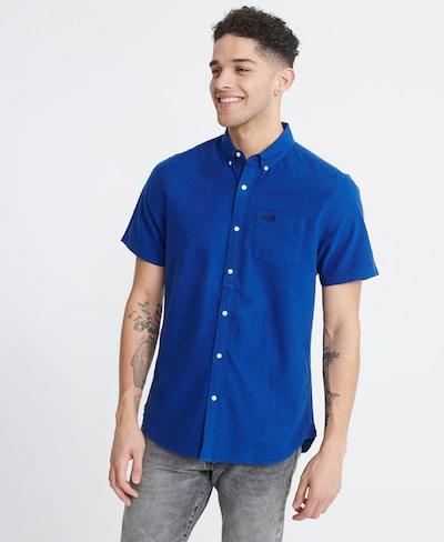 Superdry Oxfordhemd in blau: Frontalansicht