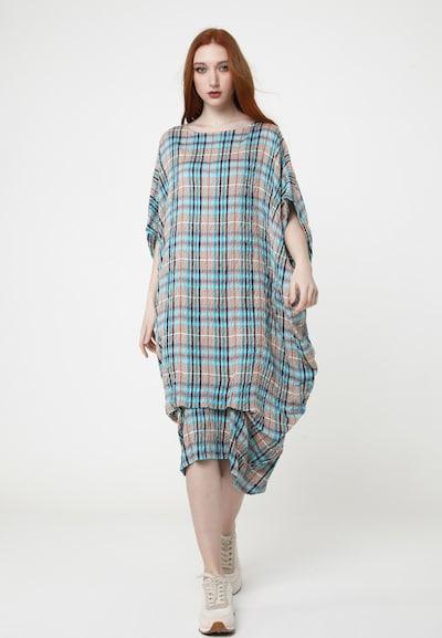 Madam-T Sommerkleid 'ALUNESSA' in blau, Modelansicht
