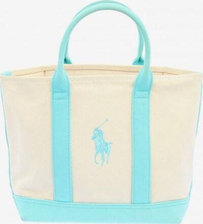 RALPH LAUREN Handtasche in One Size in türkis / wollweiß, Produktansicht
