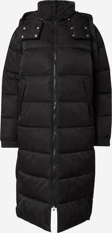 HUGOZimski kaput 'Favina' - crna boja