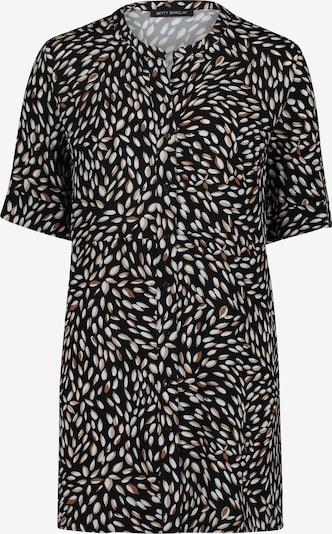 Betty Barclay Blouse in de kleur Bruin / Zwart / Wit, Productweergave