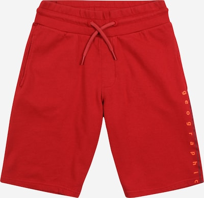 NAPAPIJRI Broek 'NADYR' in de kleur Sinaasappel / Rood / Wit, Productweergave