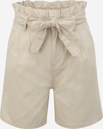 OBJECT Petite Pleat-Front Pants 'AUBREY' in Brown