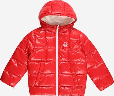 UNITED COLORS OF BENETTON Prechodná bunda - svetločervená / biela, Produkt