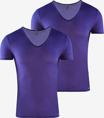 Olaf Benz Onderhemd ' V-Neck 'RED 0965' 2-Pack ' in de kleur Violetblauw, Productweergave