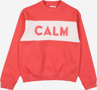 NAME IT Sweatshirt 'TAMARA' i rosa / vit, Produktvy