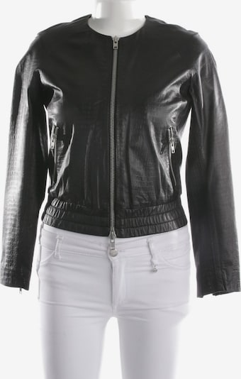 MUUBAA Lederjacke / Ledermantel in S in schwarz, Produktansicht