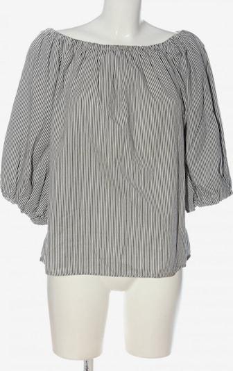 Kauf Dich Glücklich Carmen-Bluse in L in schwarz / weiß, Produktansicht