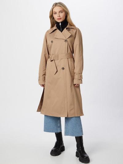 Demisezoninis paltas 'Sage' iš mbym, spalva – smėlio spalva, Modelio vaizdas