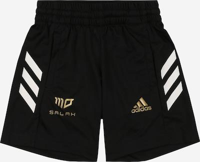 ADIDAS PERFORMANCE Športové nohavice 'Salah' - zlatá / čierna / biela, Produkt