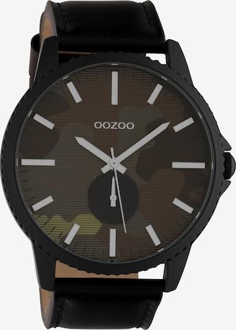 OOZOO Uhr 'C10334' in Schwarz