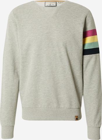 Fli Papigu Sweatshirt 'Der 25' in Grau