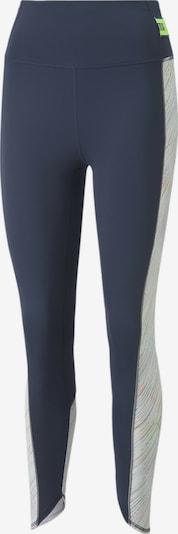 PUMA Sportbroek in de kleur Blauw / Lichtgroen, Productweergave
