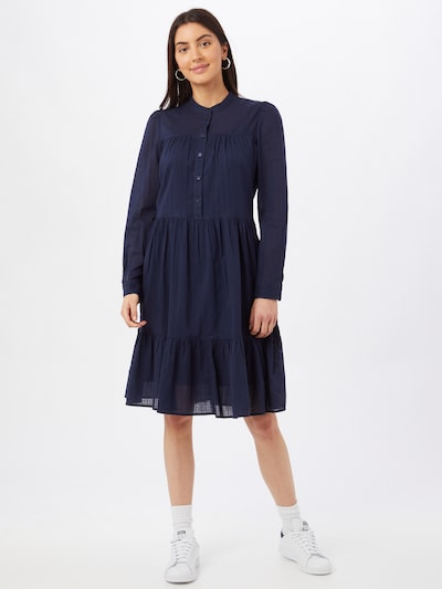 ESPRIT Dolga srajca | mornarska barva, Prikaz modela