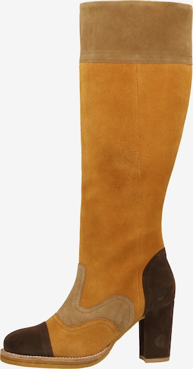 KICKERS Laarzen in de kleur Bruin / Zwart, Productweergave