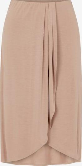 PIECES Falda 'Neora' en marrón claro, Vista del producto