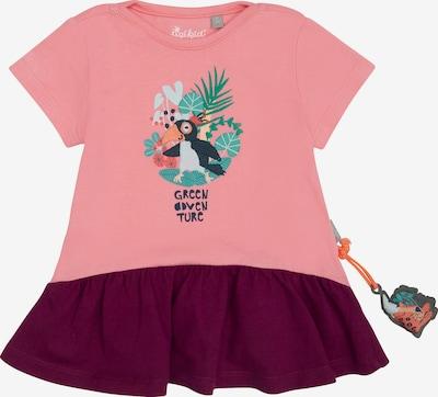 SIGIKID Kleid in grün / koralle / bordeaux, Produktansicht