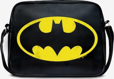 LOGOSHIRT Umhängetasche 'Batman Logo - DC Comics' in schwarz, Produktansicht