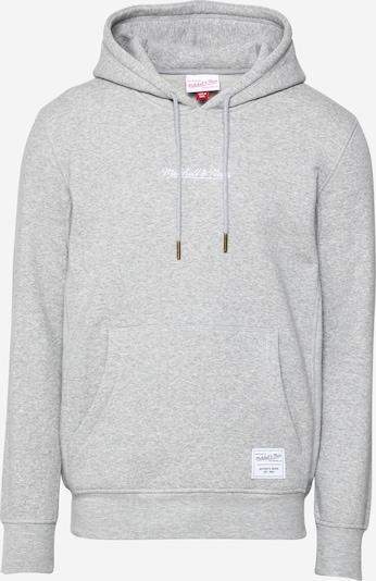 Mitchell & Ness Sweatshirt in Grey / White, Item view