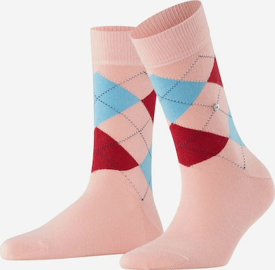 BURLINGTON Socken in blau / pink / rosa, Produktansicht