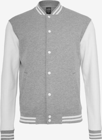 Urban Classics Prechodná bunda - sivá melírovaná / biela, Produkt