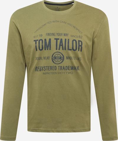 TOM TAILOR T-Shirt in dunkelblau / oliv, Produktansicht