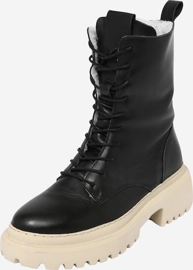 Suvarstomieji kulkšnis dengiantys batai 'Shirin' iš ABOUT YOU, spalva – juoda, Prekių apžvalga