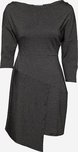 Closet London Robe en gris chiné / noir, Vue avec produit