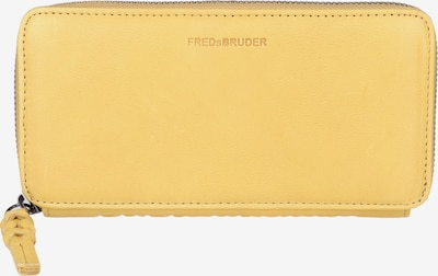 FREDsBRUDER Portemonnaie 'Bliss Wallet' in gelb, Produktansicht