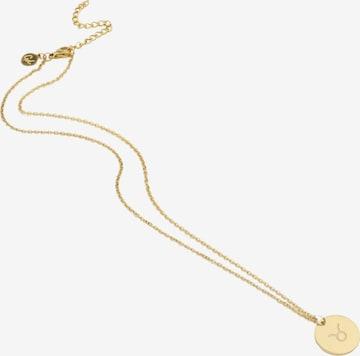 GOOD.designs Kette 'Stier' in Gold