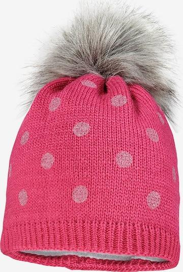 MAXIMO Cepure, krāsa - pelēks / rozā / rožkrāsas, Preces skats