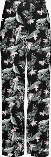 VERO MODA Broek 'Simply' in de kleur Pastelgroen / Rosa / Zwart / Wit, Productweergave