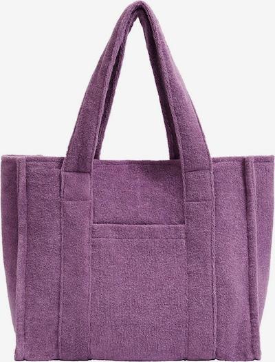 MANGO Shopper 'Clara' in lila, Produktansicht