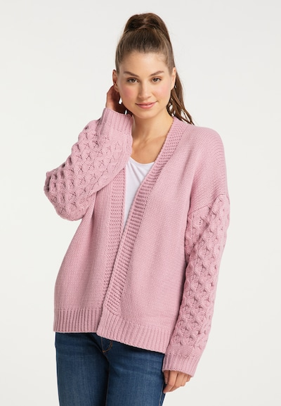MYMO Cardigan in pink, Modelansicht