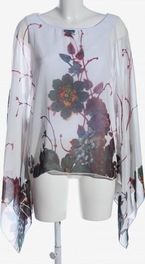 Lesara Schlupf-Bluse in S in blau / braun / weiß, Produktansicht