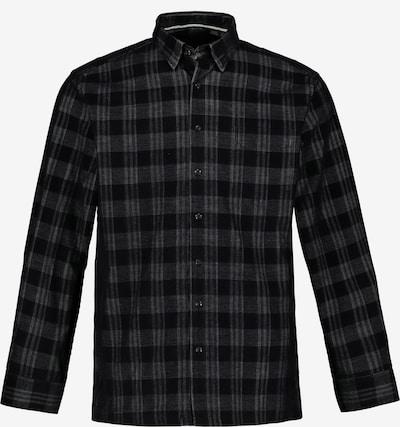 JP1880 Hemd in anthrazit / schwarz, Produktansicht