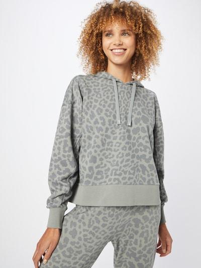 NIKE Athletic Sweatshirt 'Get Fit' in Grey / Dark grey: Frontal view