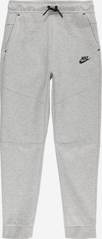 pelēks Nike Sportswear Bikses