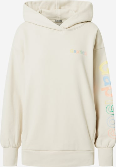 GAP Sweatshirt in Mixed colours / Wool white, Item view