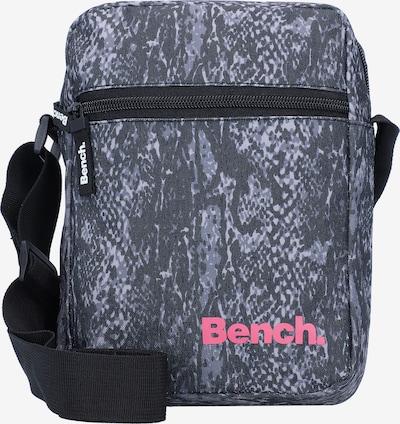 BENCH Umhängetasche in dunkelgrau / koralle / schwarz, Produktansicht