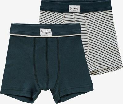 Sanetta Pure Sous-vêtements en bleu foncé / sapin / blanc, Vue avec produit